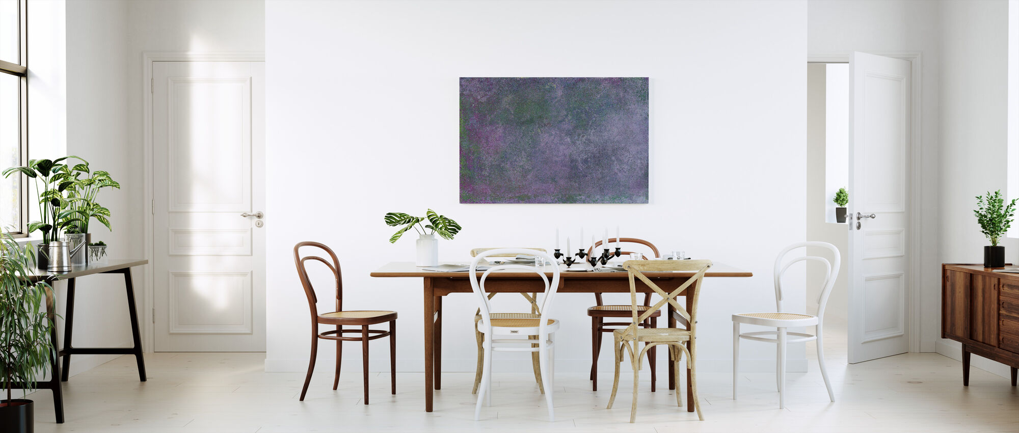 Hand Painted Texture - Canvas print - Kitchen