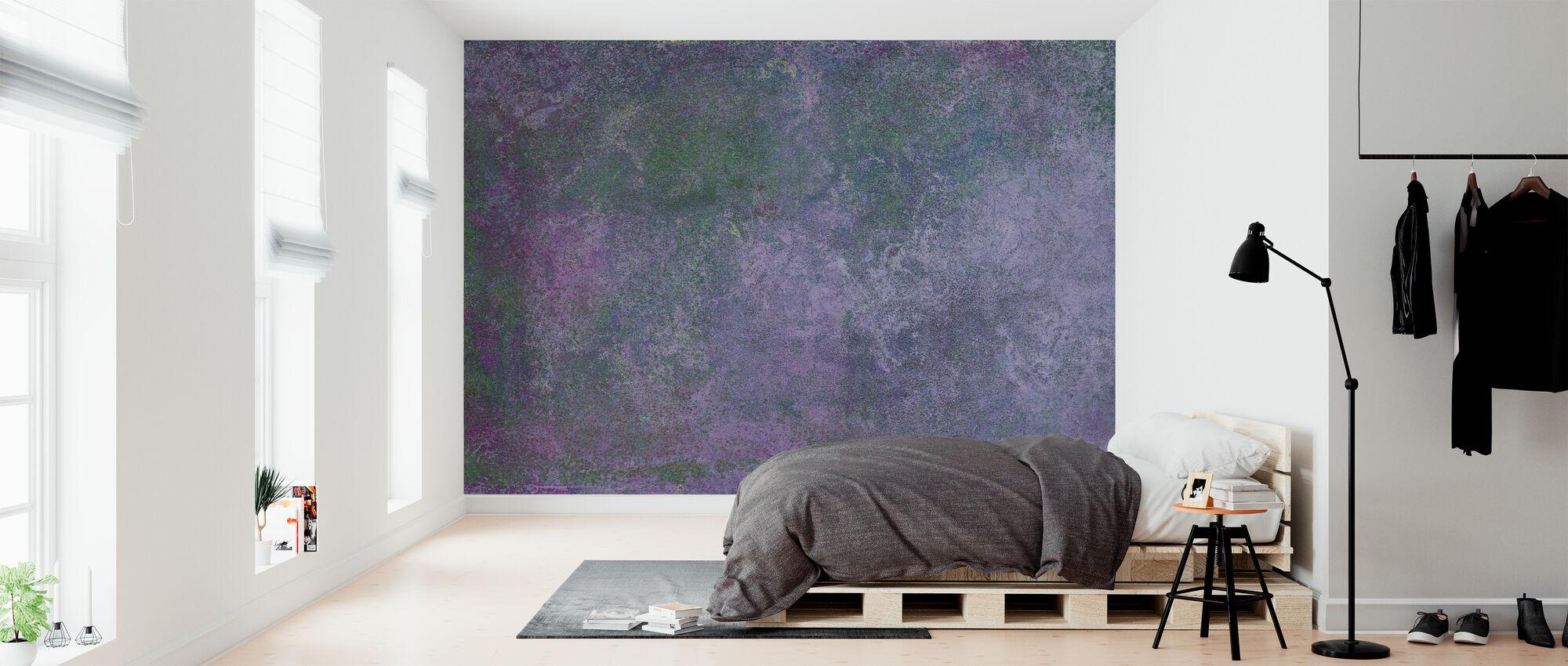 Hand Painted Texture - Wallpaper - Bedroom