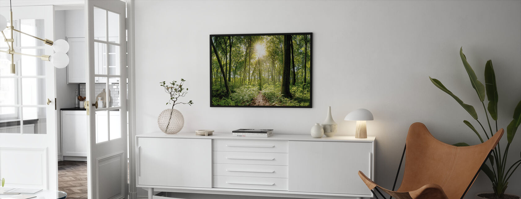 Forest - Framed print - Living Room