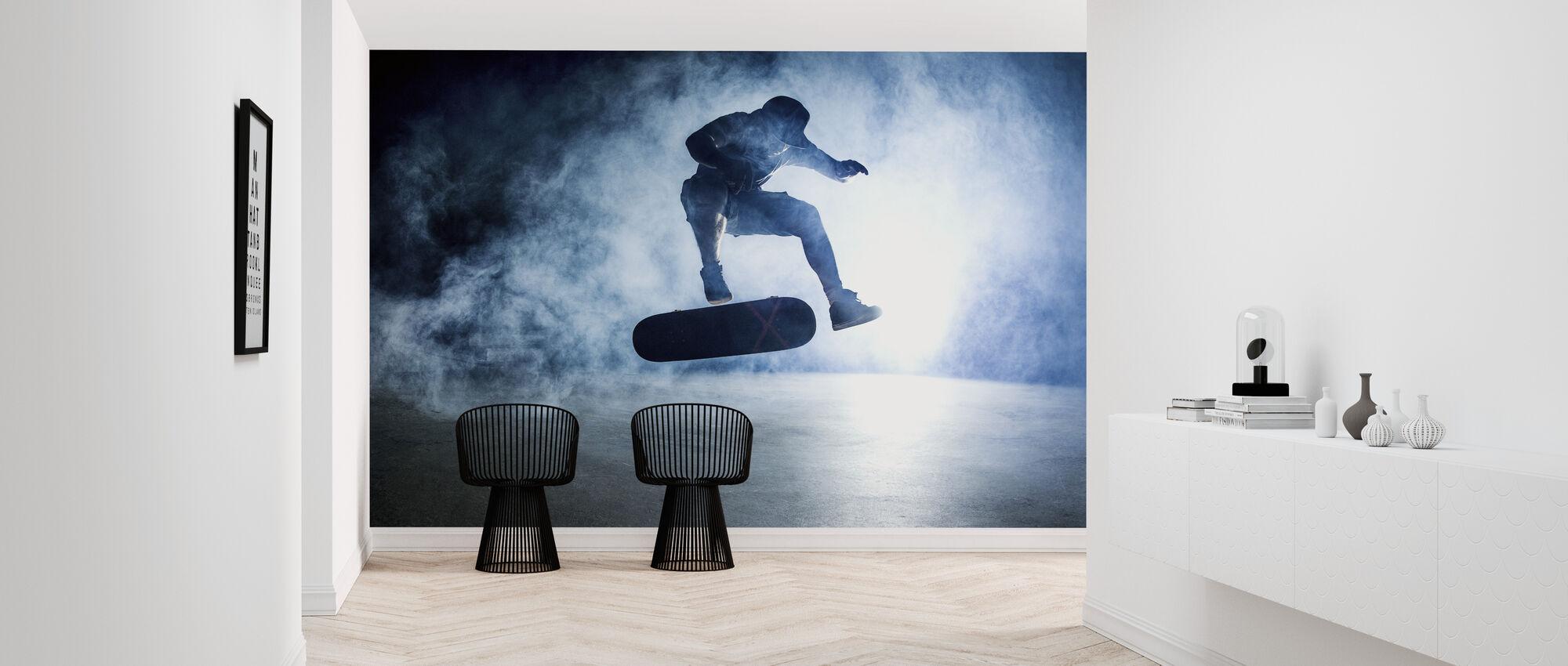 Skateboard Trick - Tapet - Gang