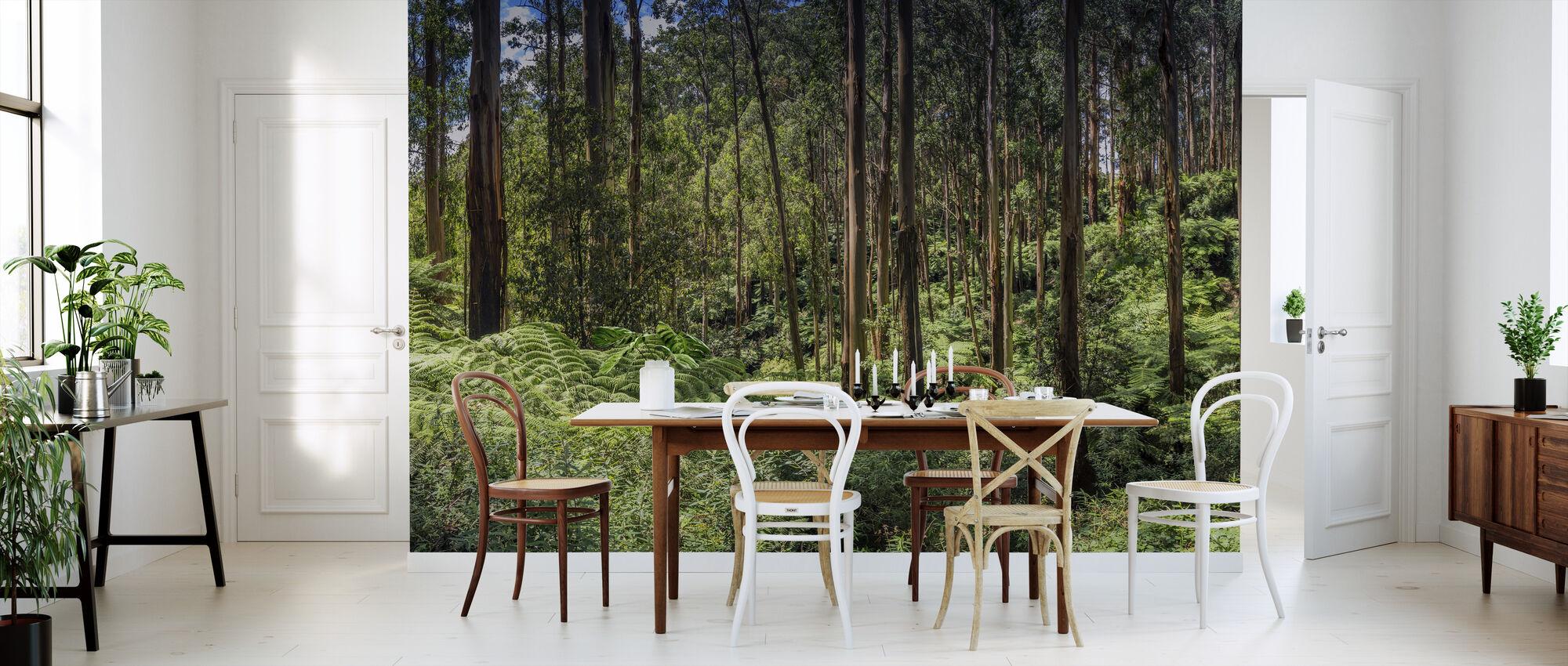 Mountain Ash Forest - Wallpaper - Kitchen