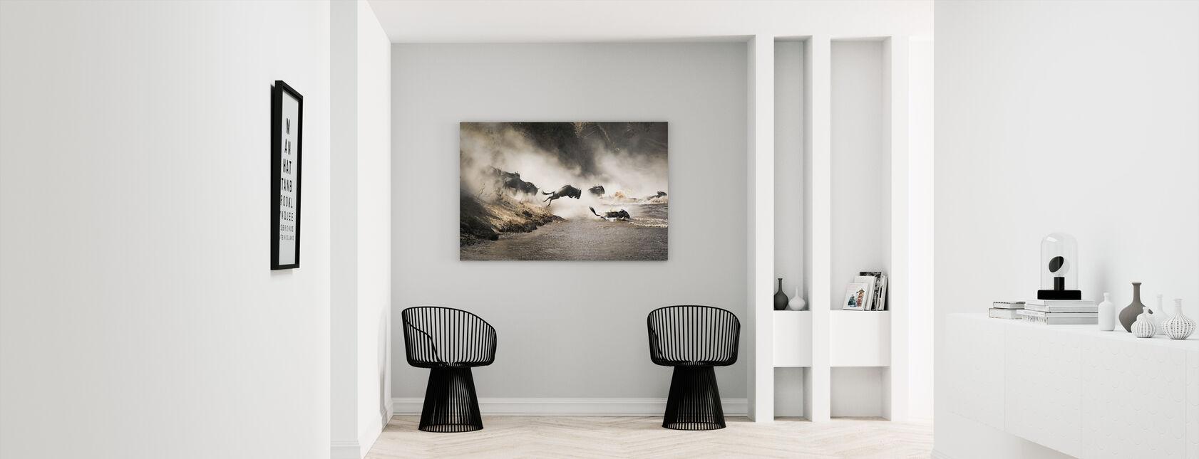 Leap of Faith - Canvas print - Hallway