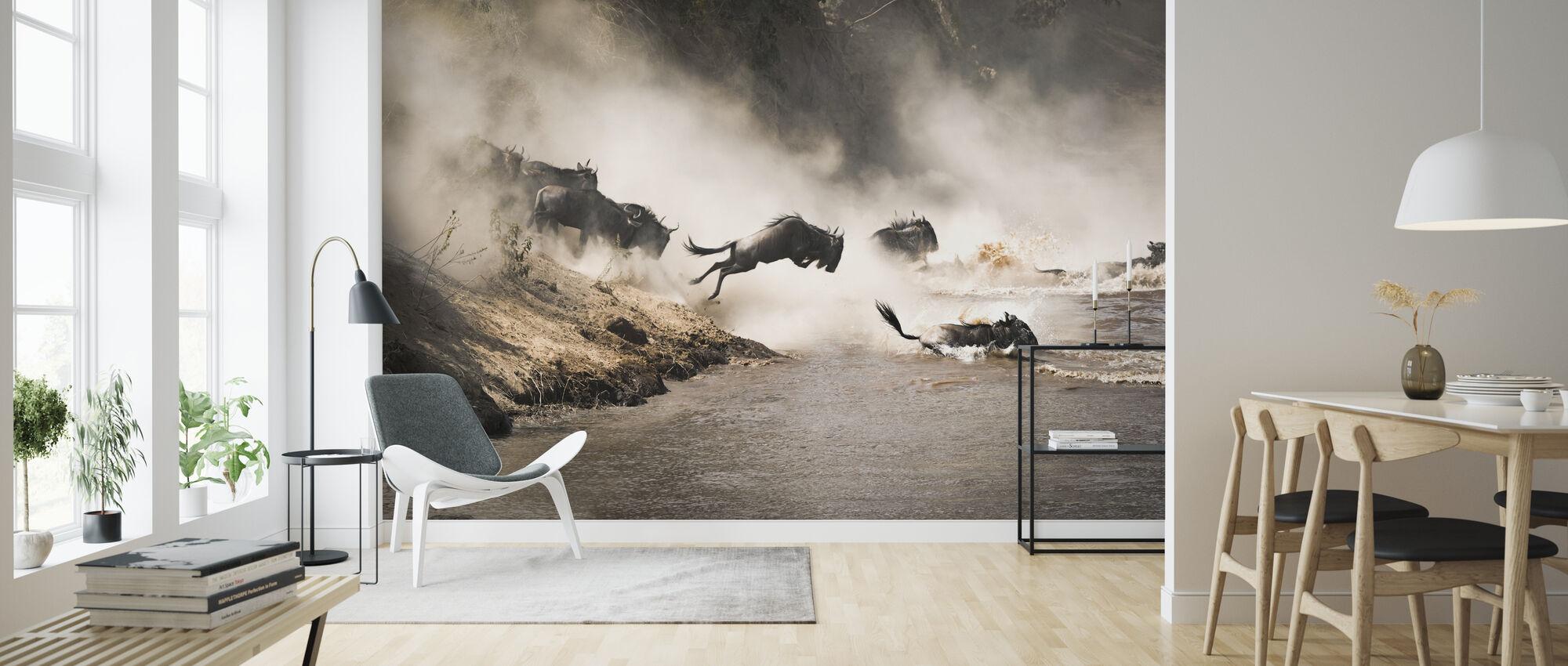 Leap of Faith - Wallpaper - Living Room