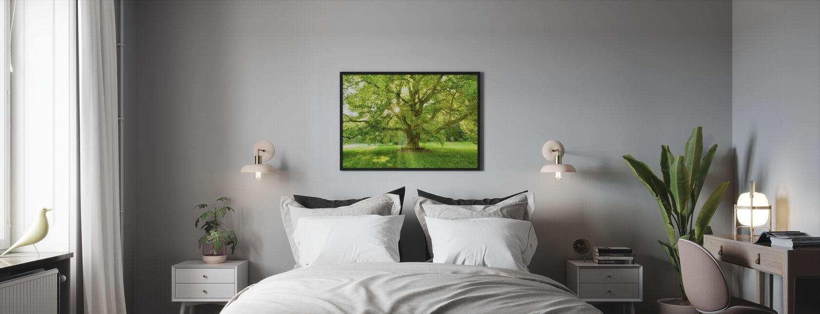 Märchenwald - Gerahmtes bild - Schlafzimmer