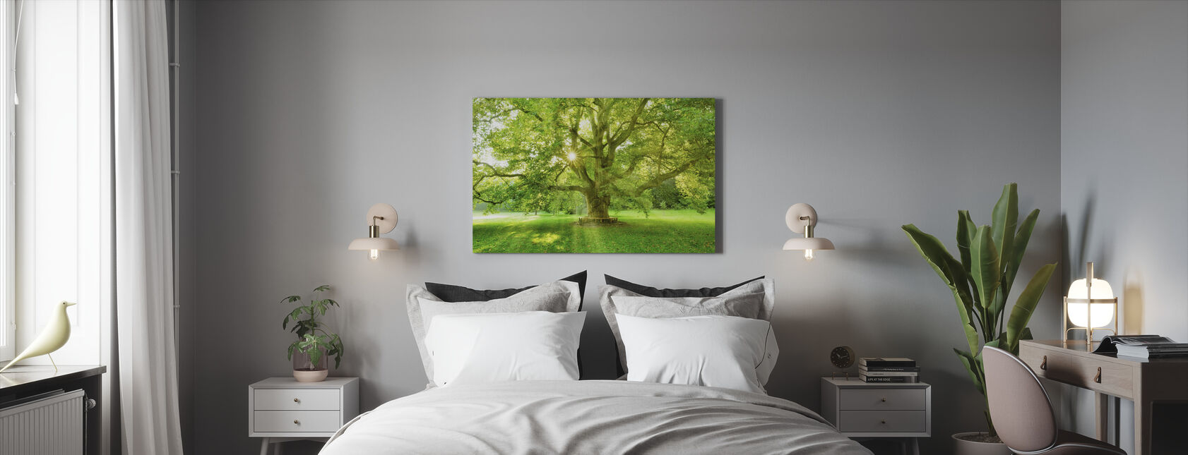 Märchenwald - Leinwandbild - Schlafzimmer