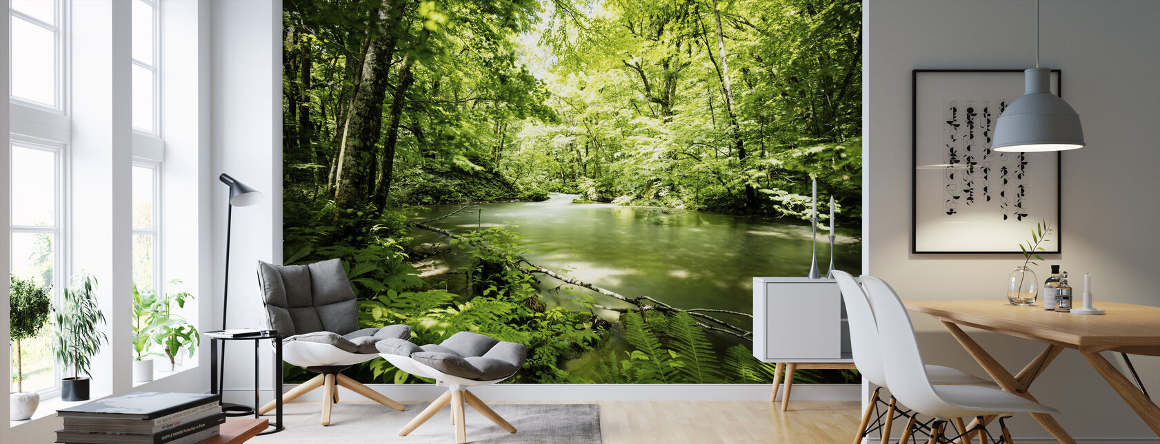 Deep into the Forest - Wallpaper - Living Room