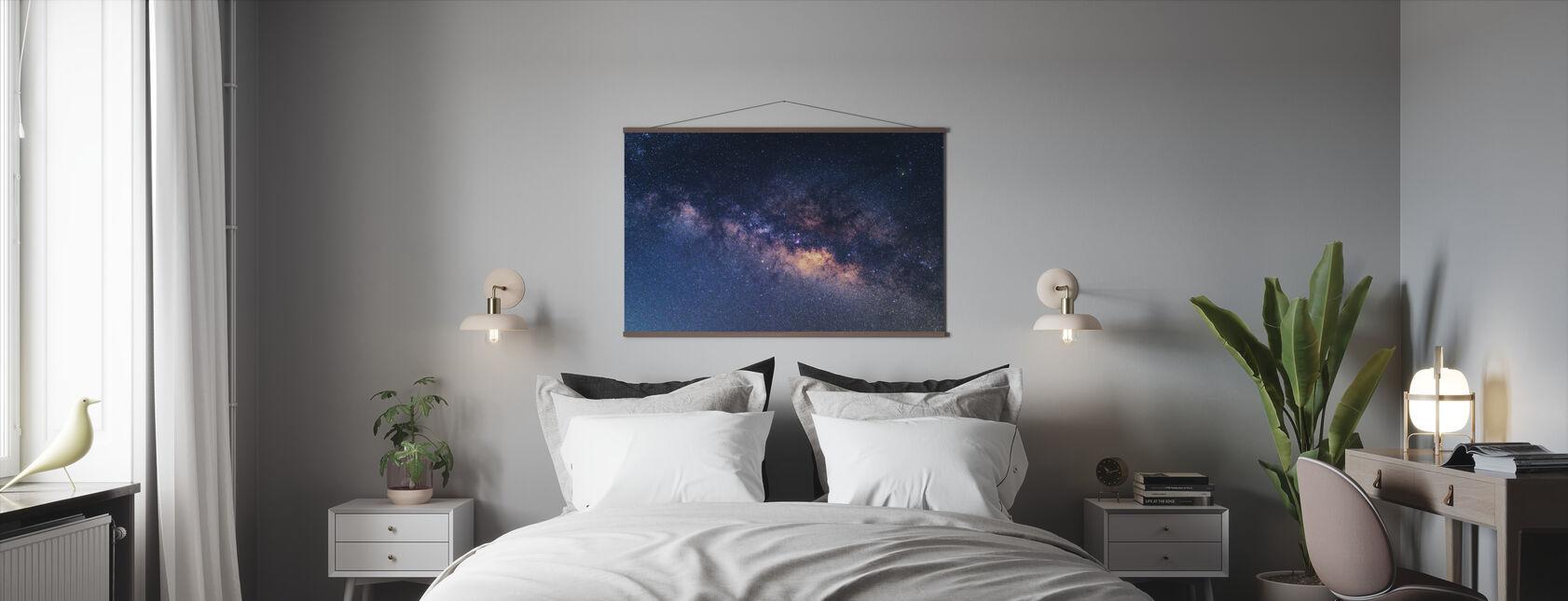 Galaksi - Juliste - Makuuhuone
