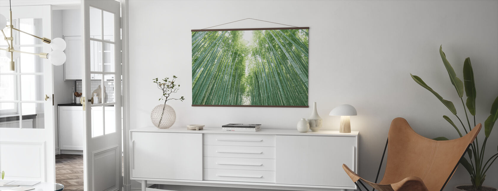 Bamboo Forest - Poster - Living Room