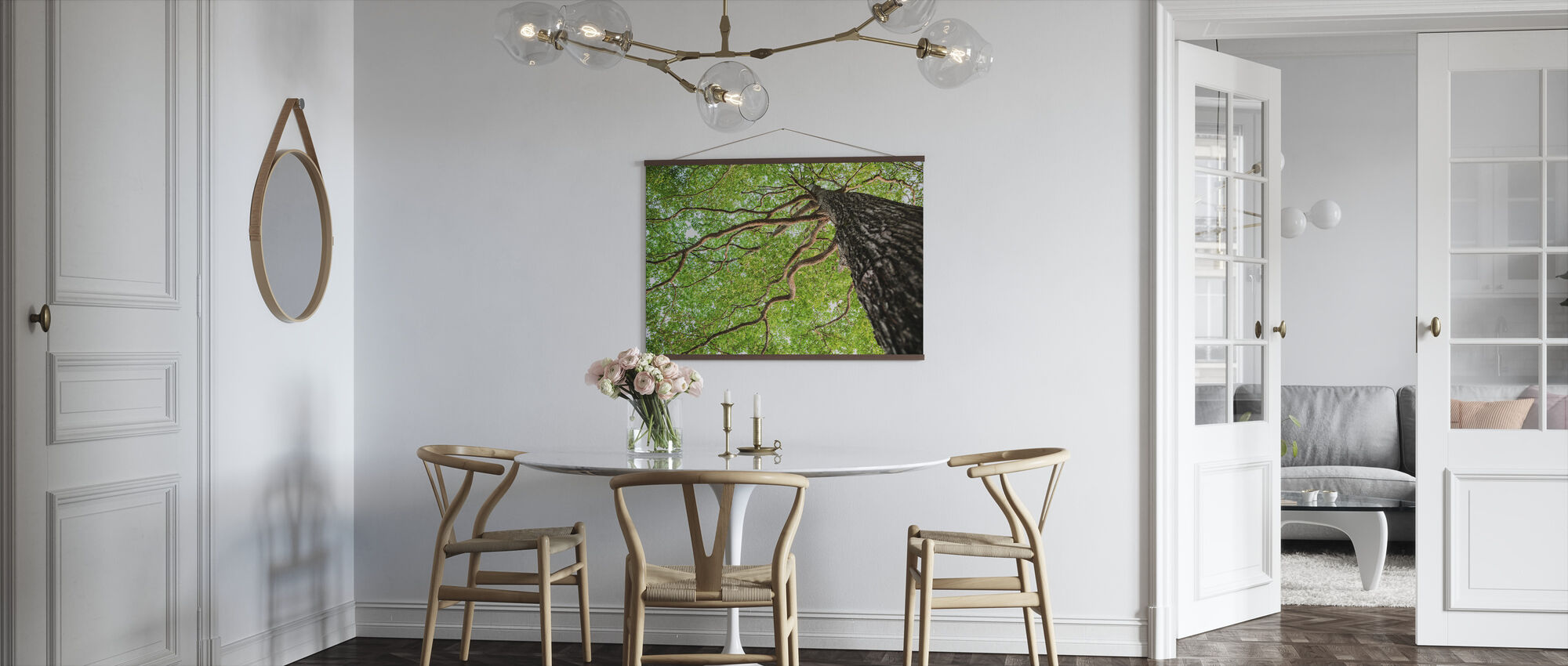 Green Leaf Tree - Poster - Kitchen
