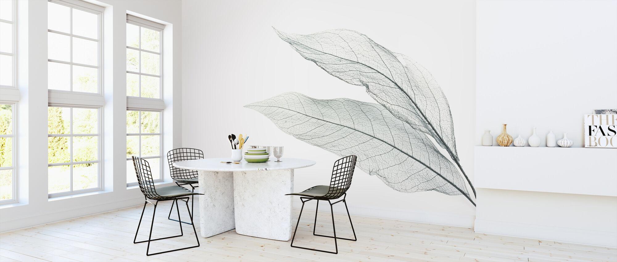 Skeleton Leaf - Wallpaper - Kitchen