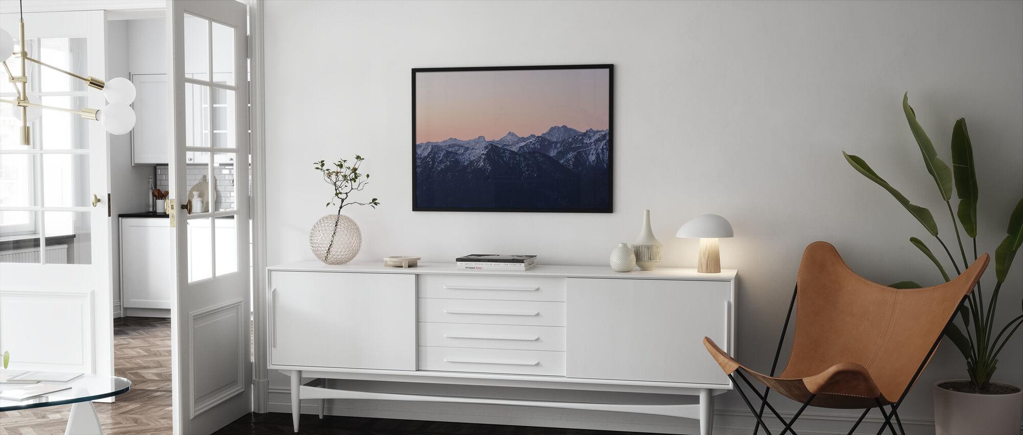 Bavarian Alps - Framed print - Living Room