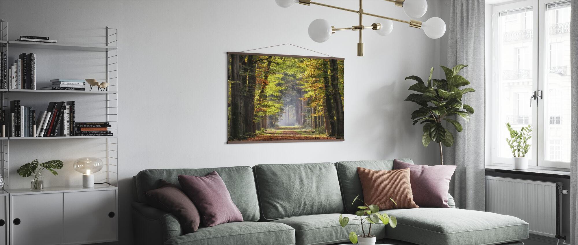Beukenlaan - Poster - Woonkamer