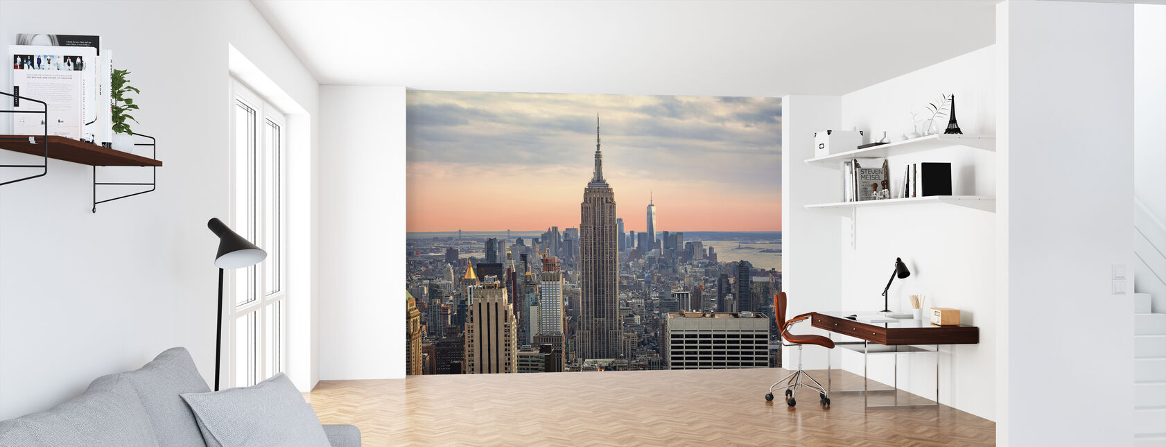 Manhattan Skyline - Wallpaper - Office
