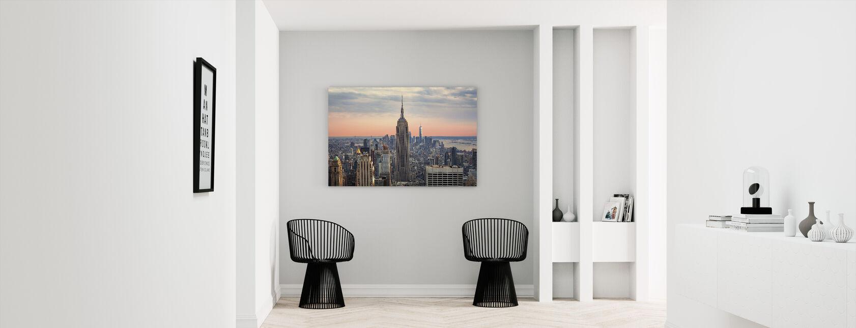 Manhattan Skyline - Canvas print - Hallway