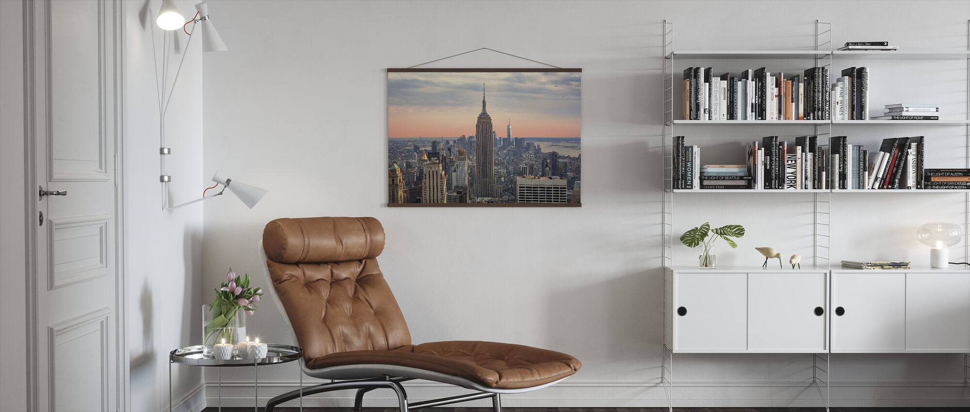 Manhattan Skyline - Poster - Living Room