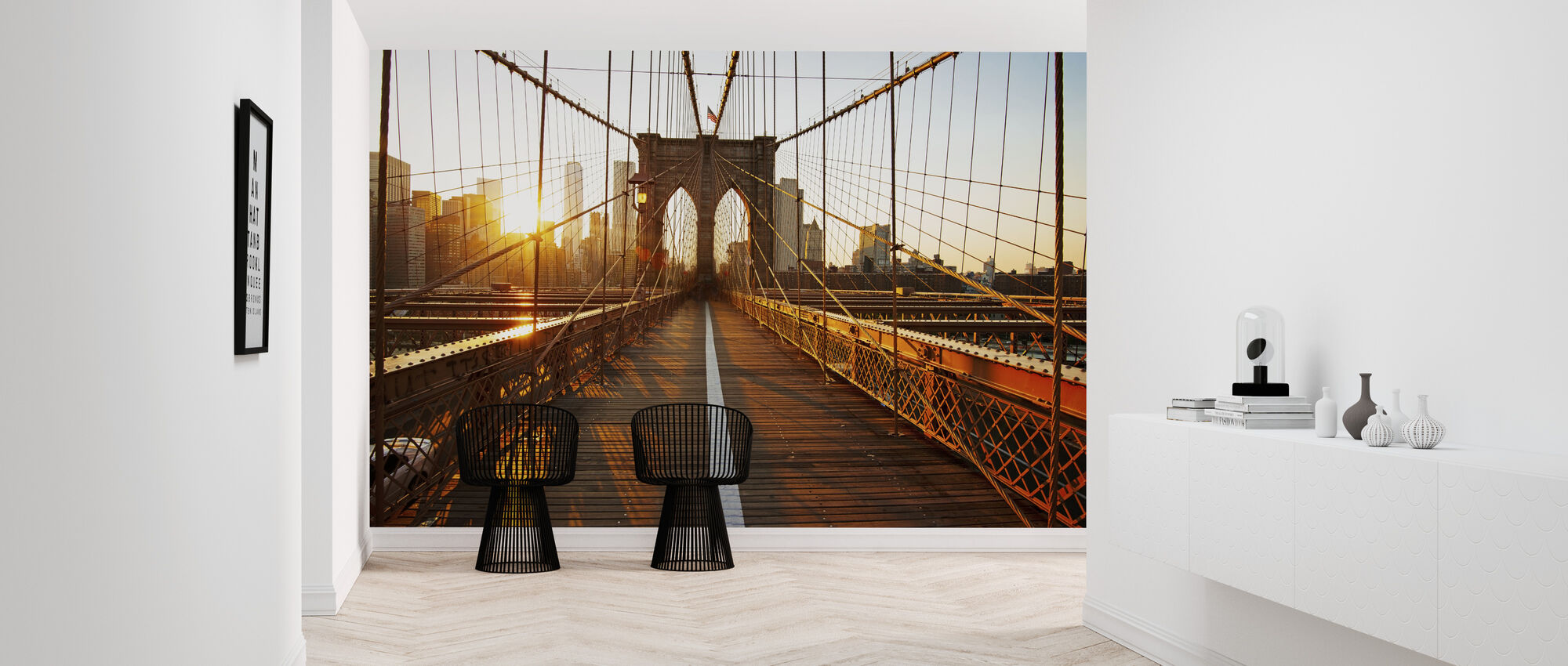 Brooklyn Bridge - Tapet - Hall