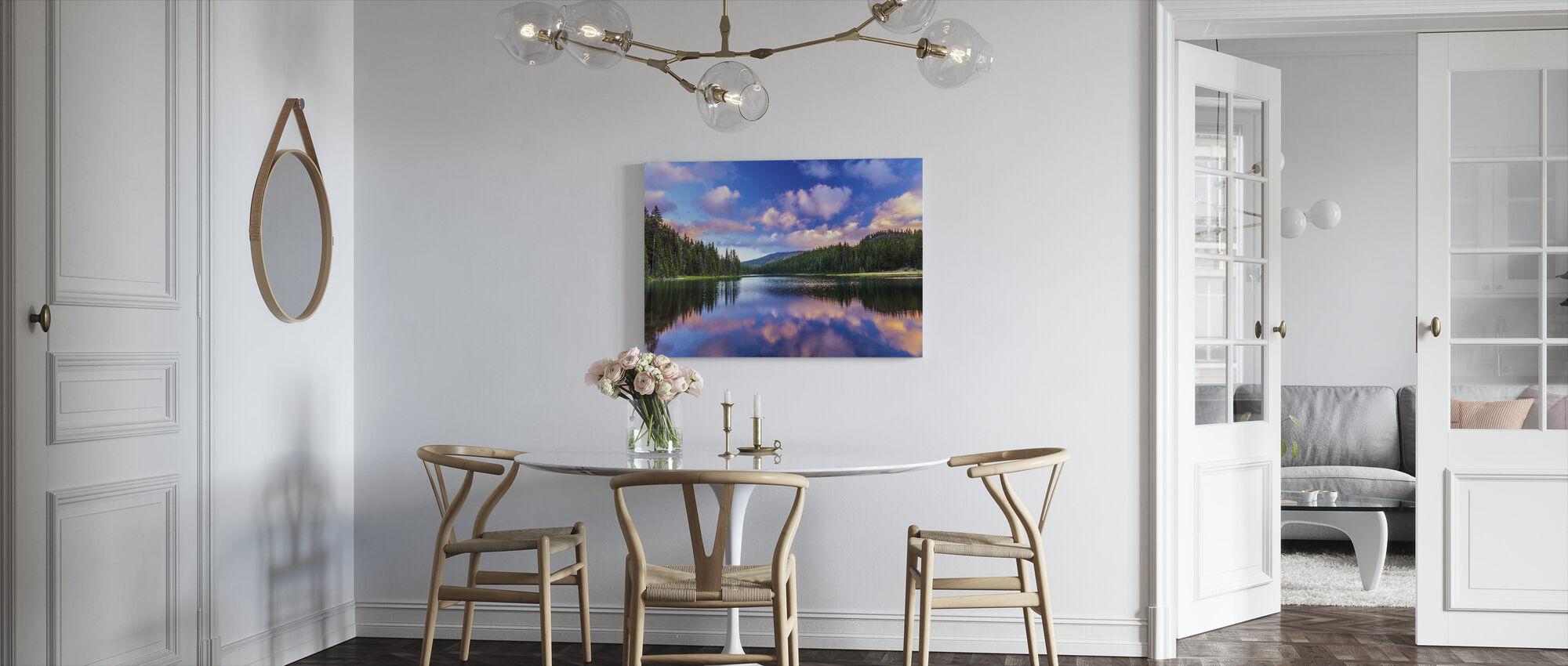 Todd Lake Bend - Canvas print - Kitchen