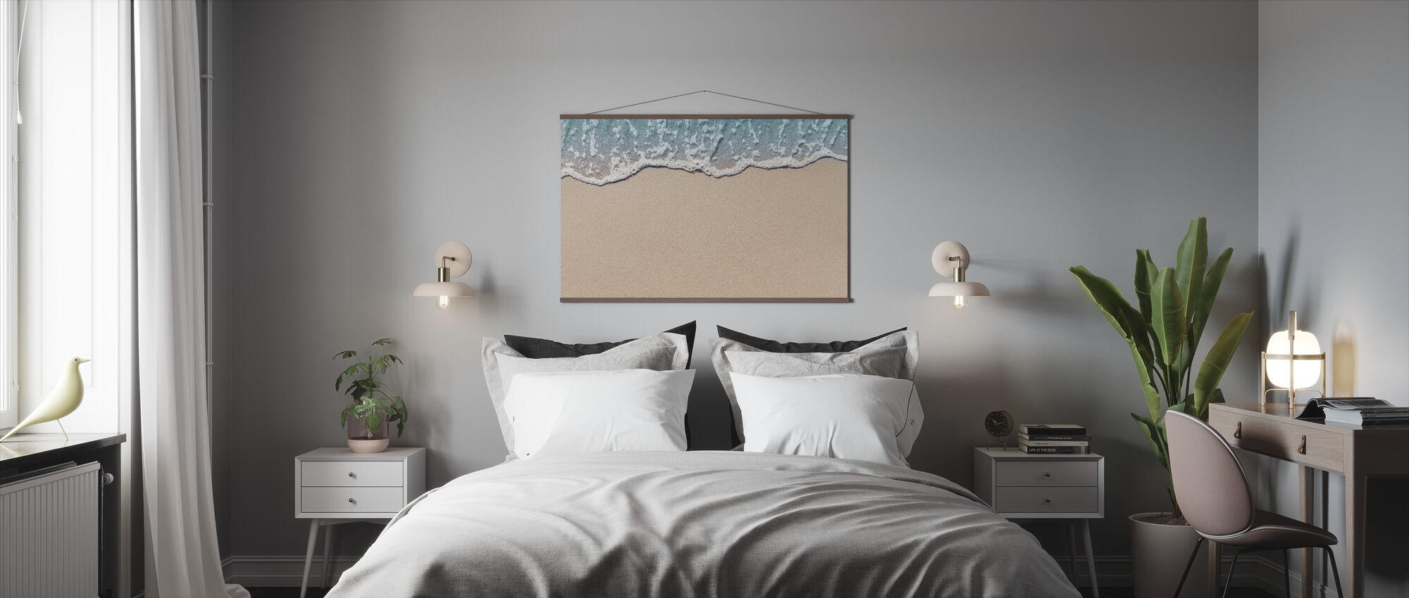 Golf op Sandy Beach - Poster - Slaapkamer