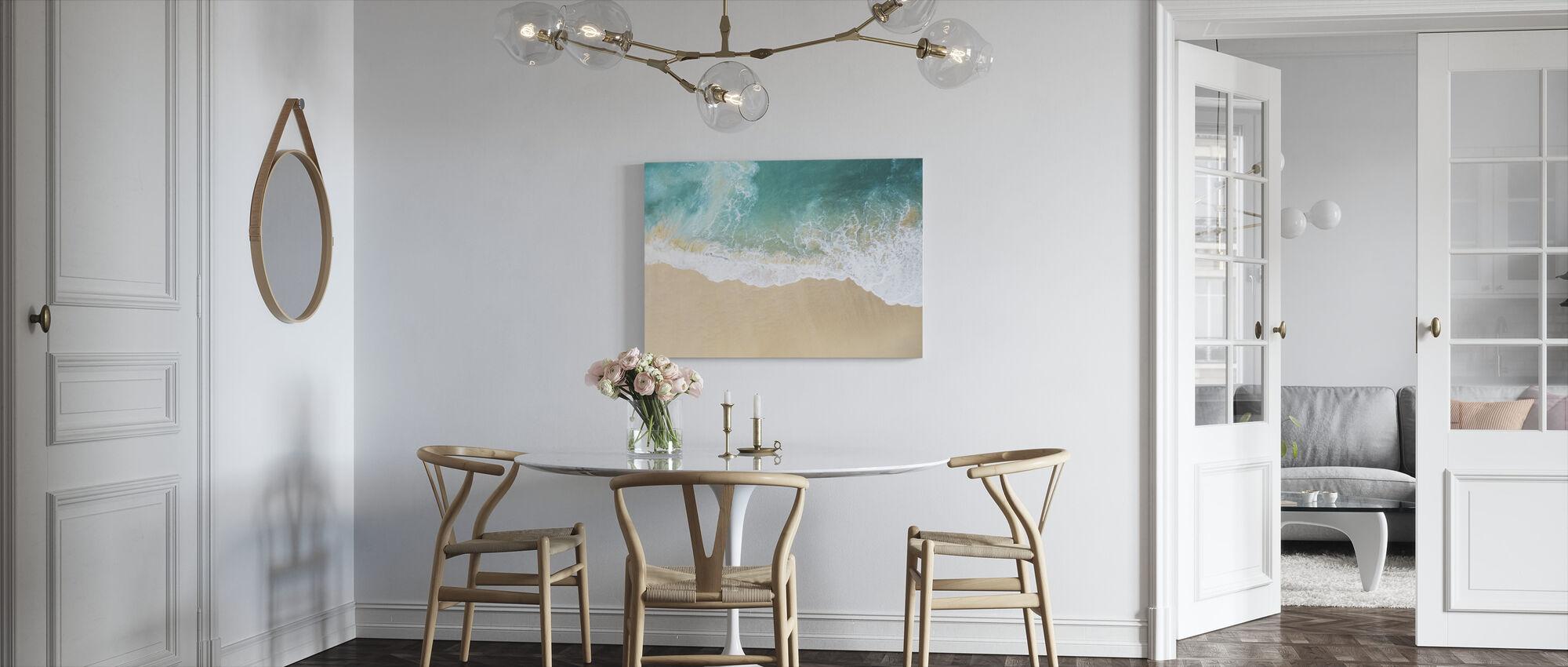 Beach View - Canvas print - Kitchen