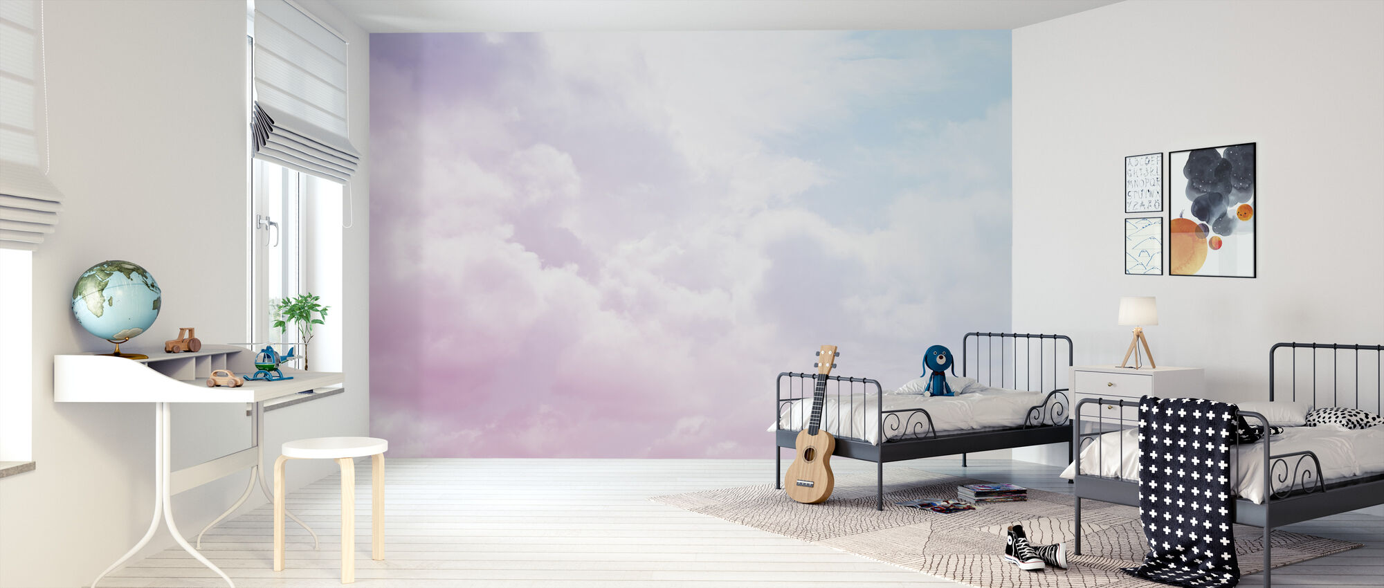 Cloudy Sky - Wallpaper - Kids Room