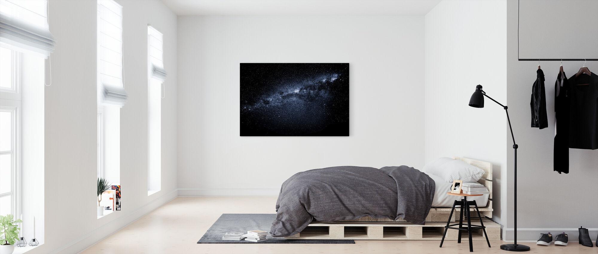 Mælkevejen - Billede på lærred - Soveværelse