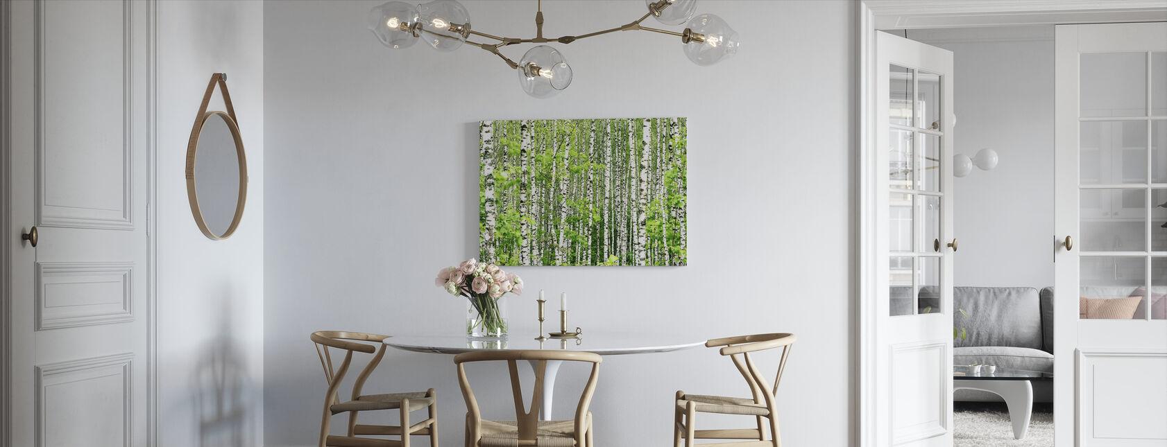 Birch Trees - Canvas print - Kitchen