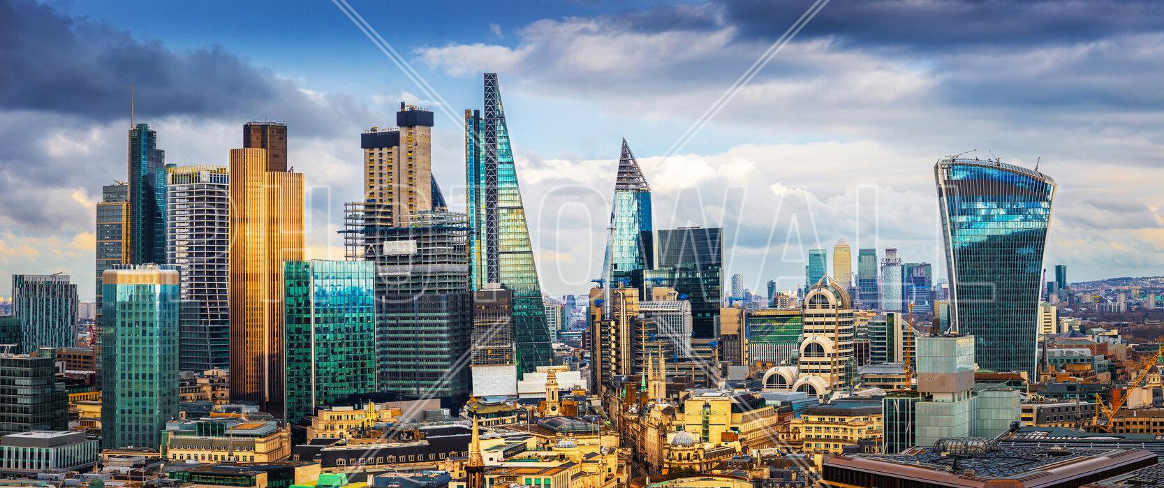 London Skyline Evocative Poster Photowall