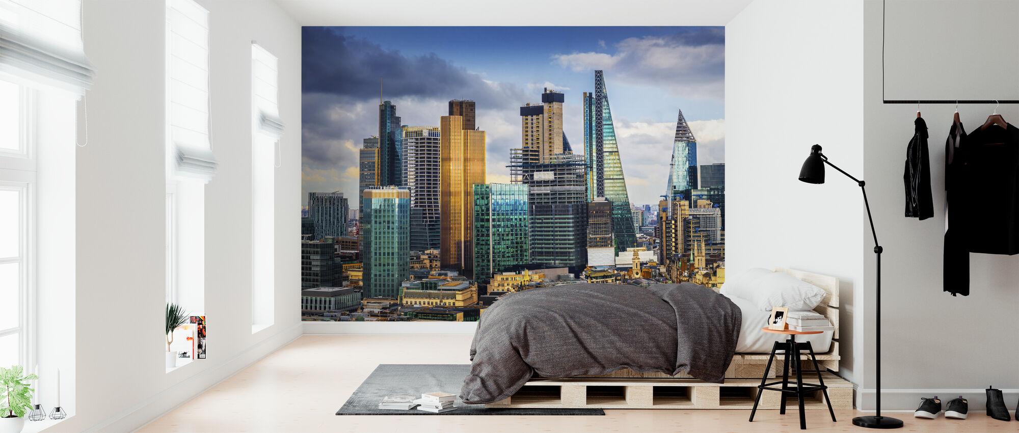 London Skyline - Wallpaper - Bedroom