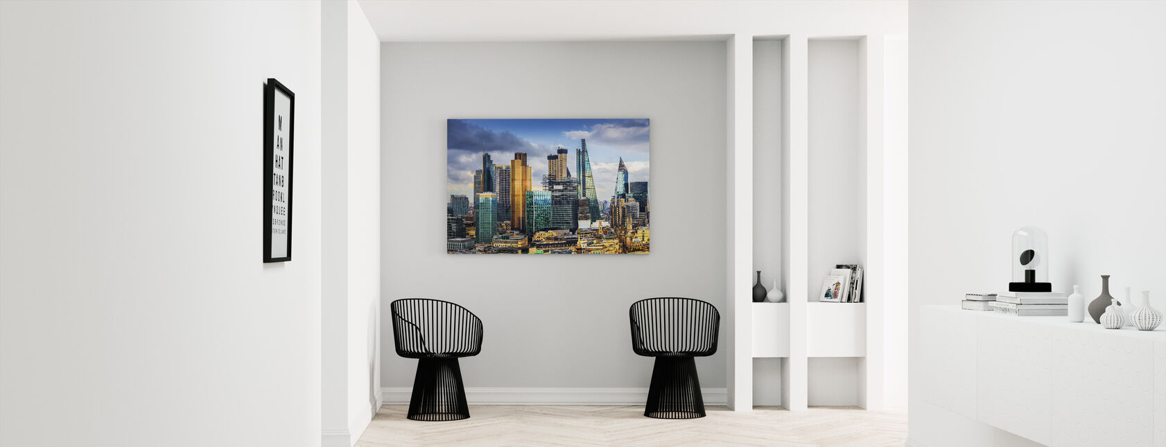 London Skyline - Canvas print - Hallway