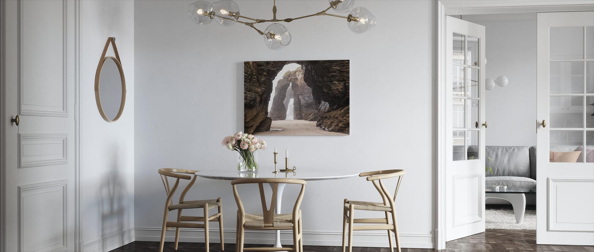 Natural Rock Arch Spain - Canvas print - Kitchen