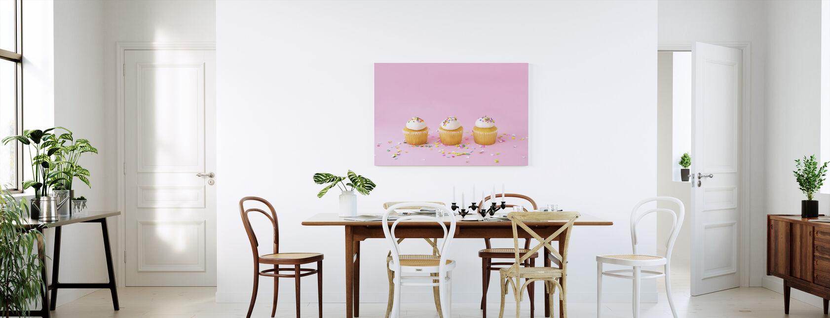 Frostat muffins - Canvastavla - Kök