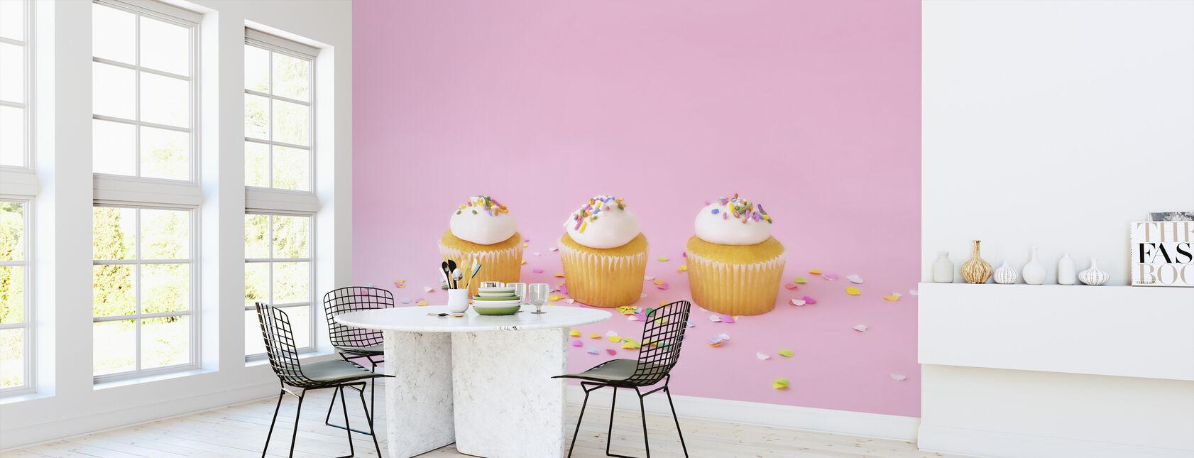 Frostat muffins - Tapet - Kök