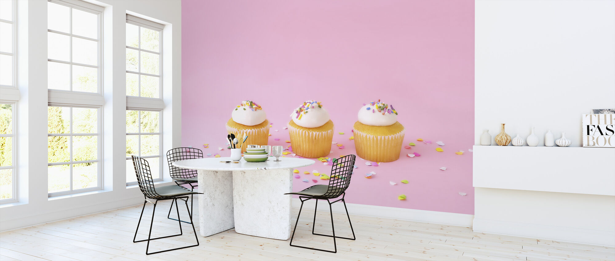 Frosted Cupcakes - Wallpaper - Kitchen