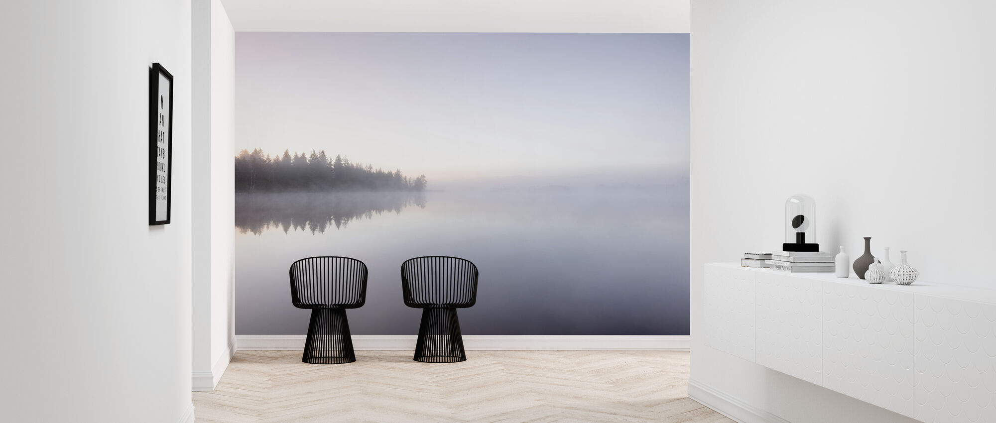 Peaceful Lake - Wallpaper - Hallway