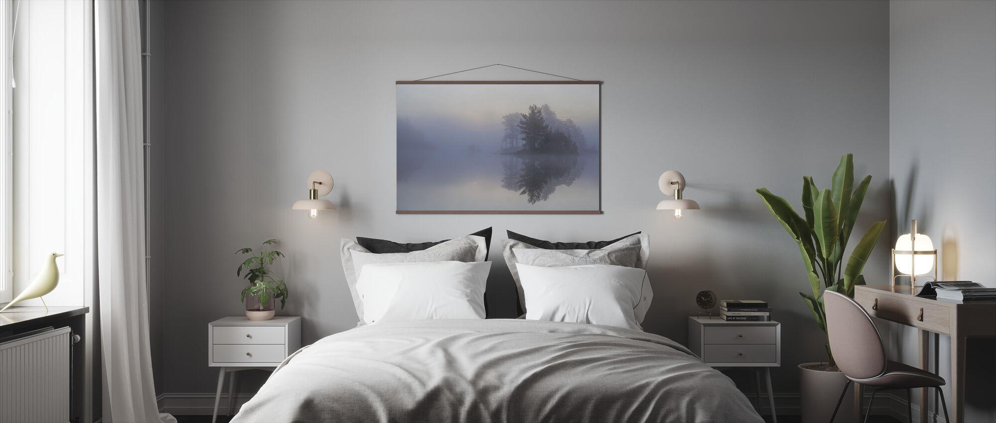 Mistige ochtend - Poster - Slaapkamer
