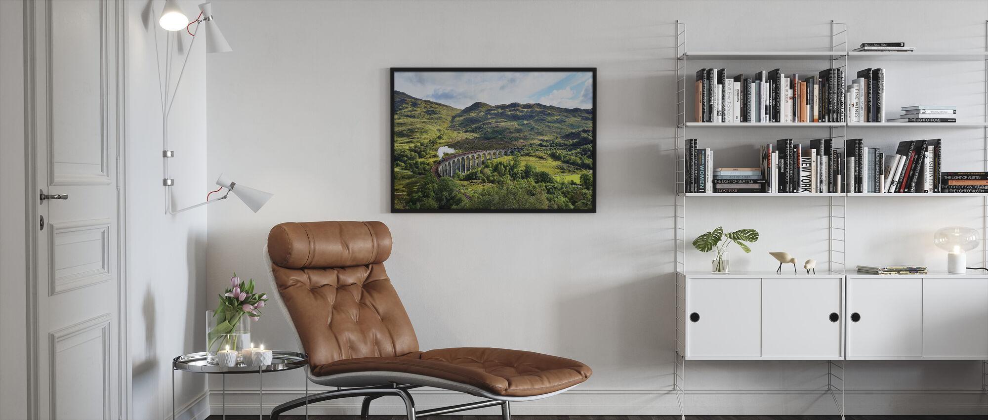 Train at Scotland Highlands - Framed print - Living Room