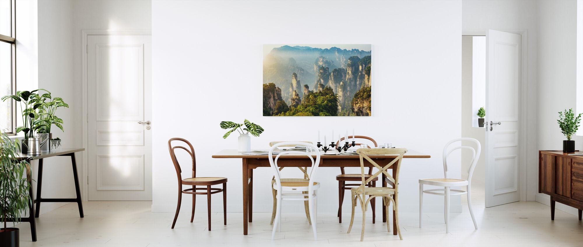 Zhangjiajie National Forest Park - Billede på lærred - Køkken