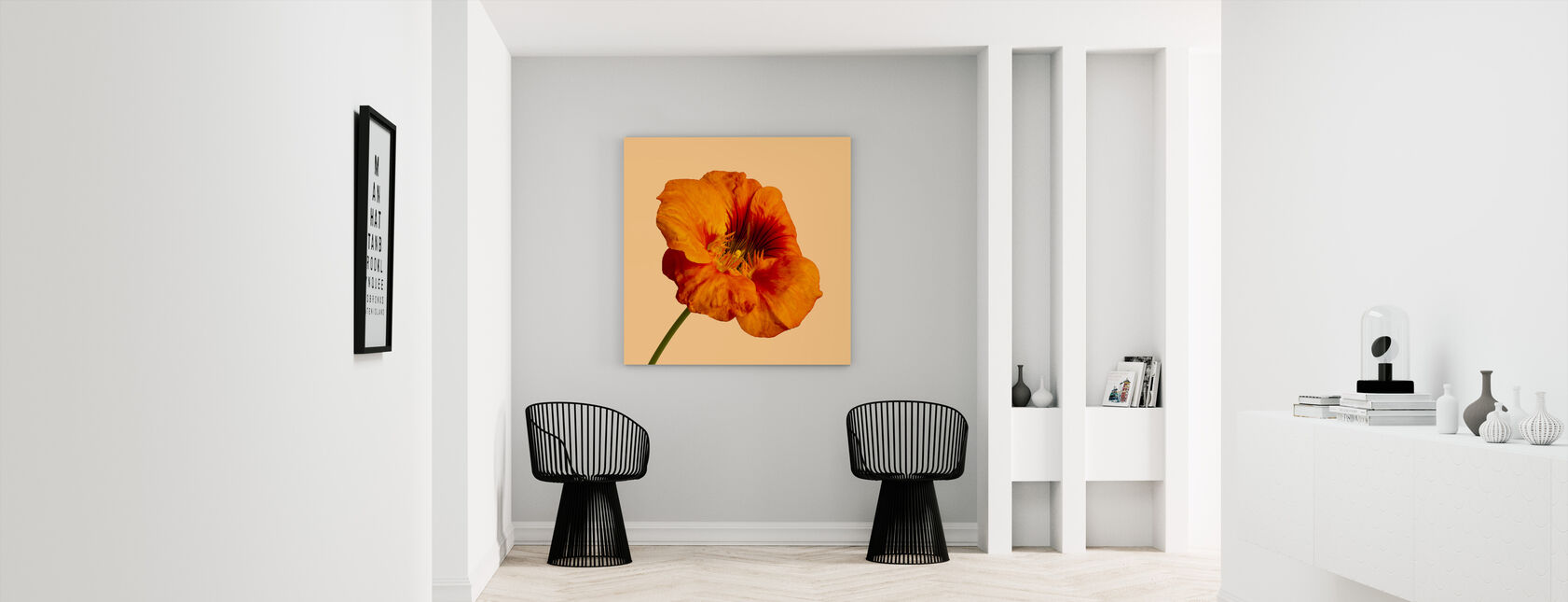 Blooming Hibiscus - Canvas print - Hallway