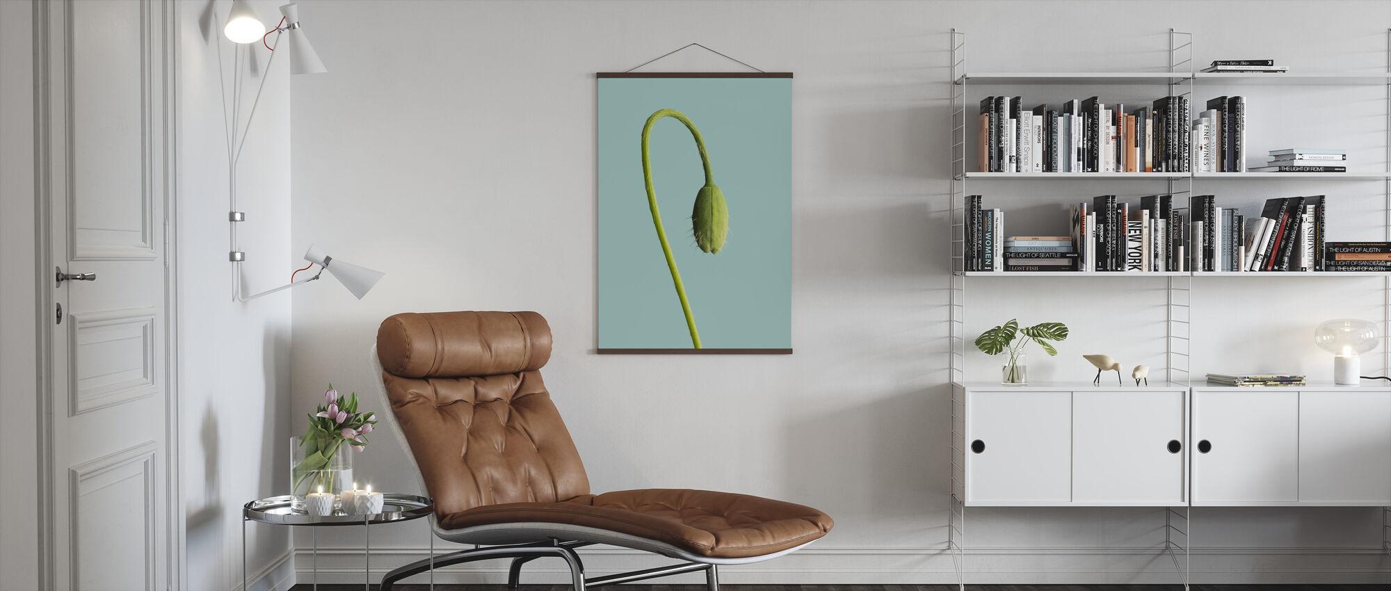 Knopp på en stilk - Plakat - Stue