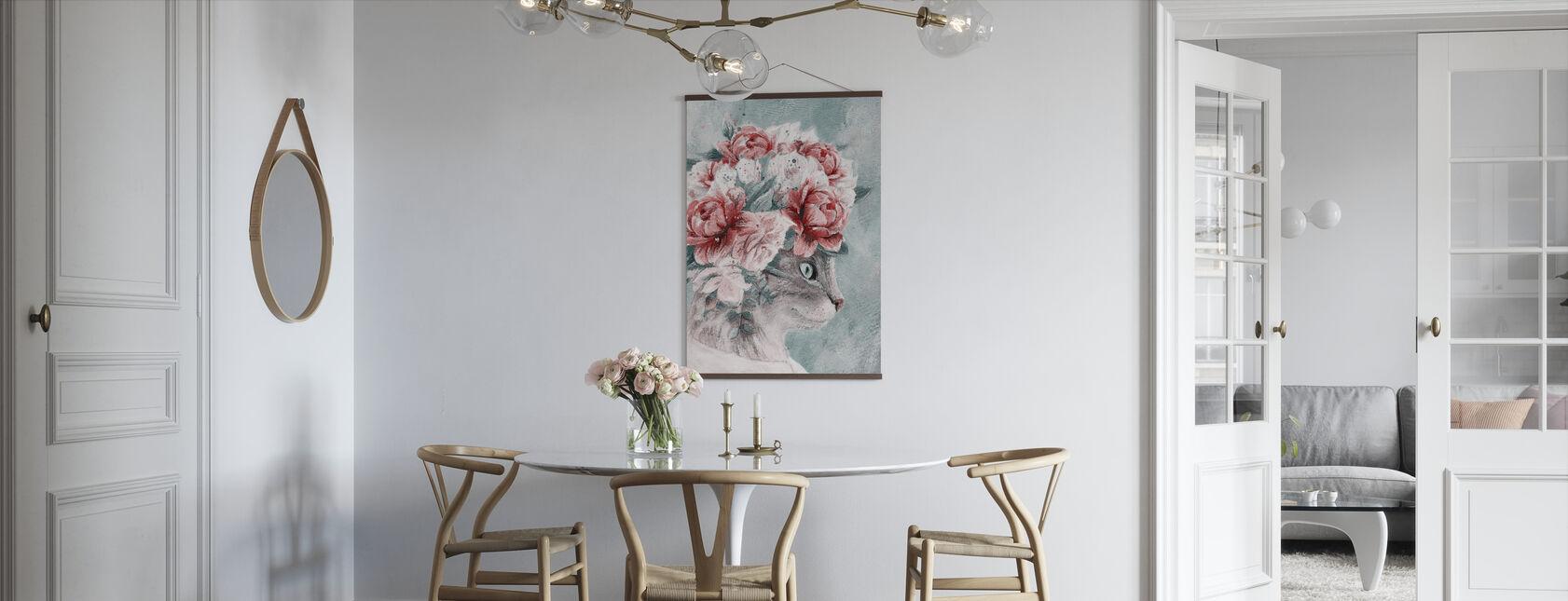 Bouquet Cat - Poster - Kitchen
