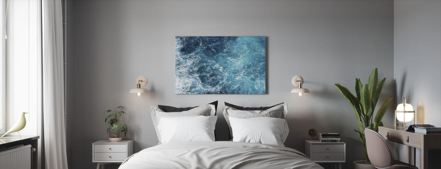 Rough Sea Waves - Canvas print - Bedroom