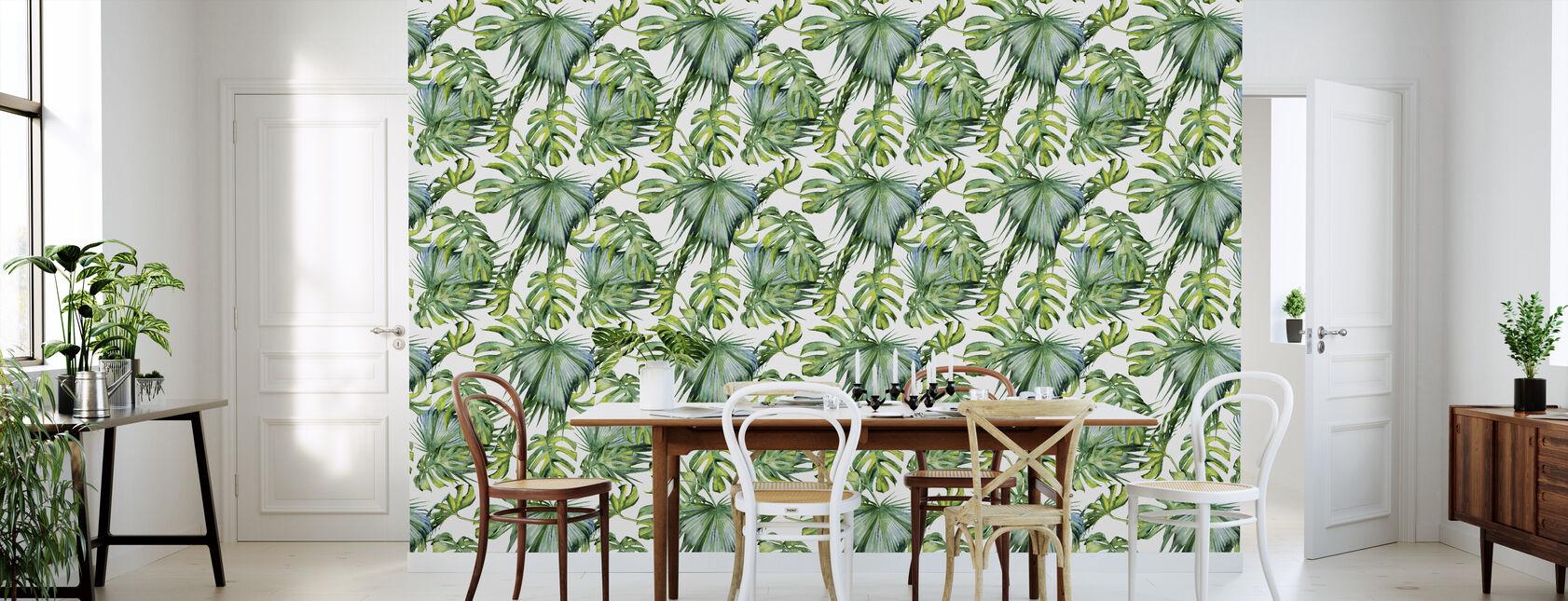 Tropical Leaves - Wallpaper - Kitchen