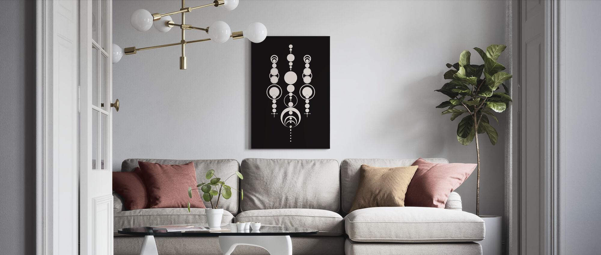 Crop Circle - Canvas print - Living Room
