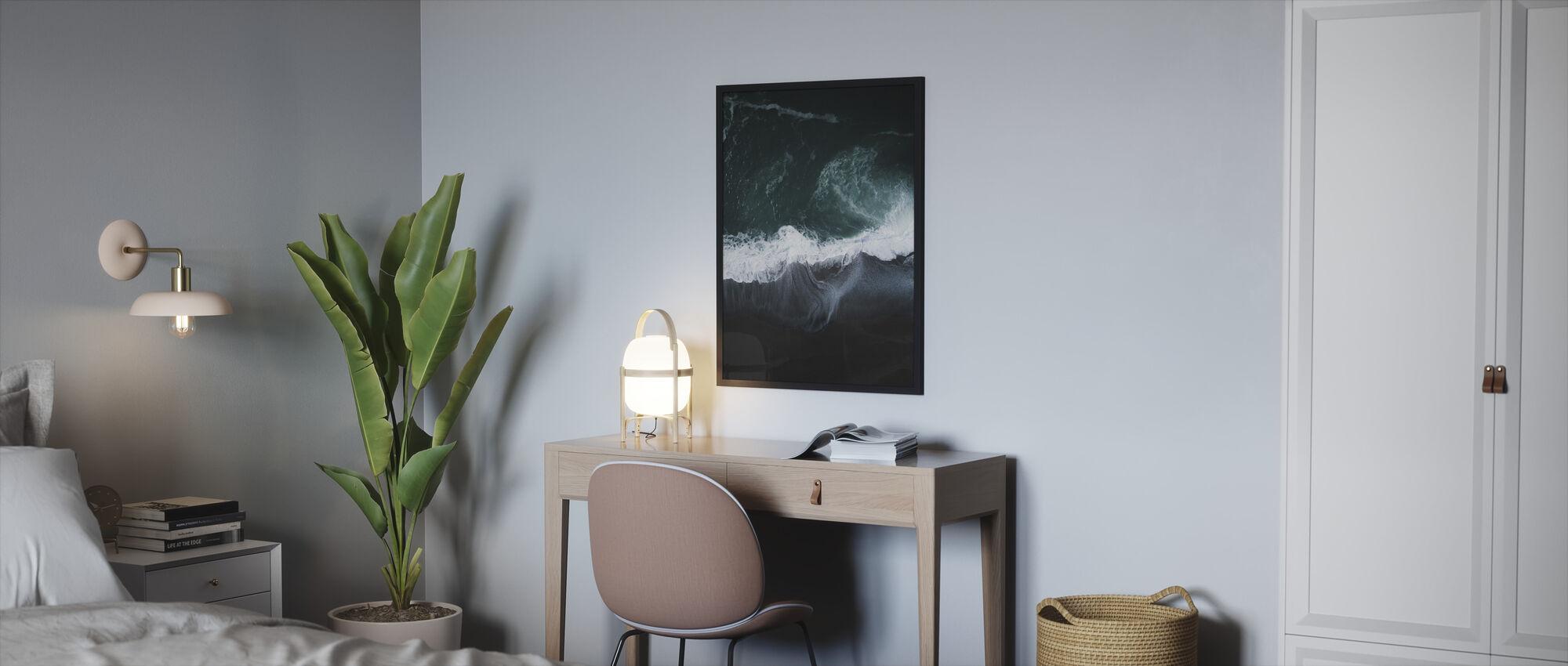 Dark Earth - Framed print - Bedroom