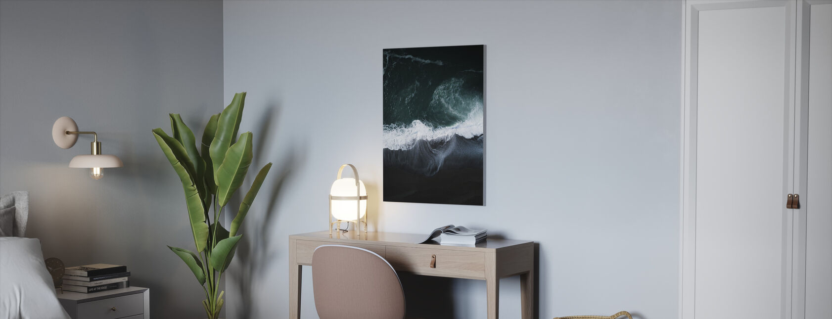 Dark Earth - Canvas print - Office