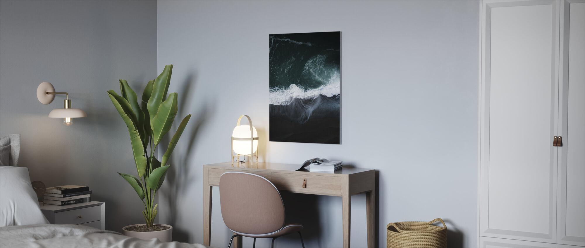Dark Earth - Canvas print - Office
