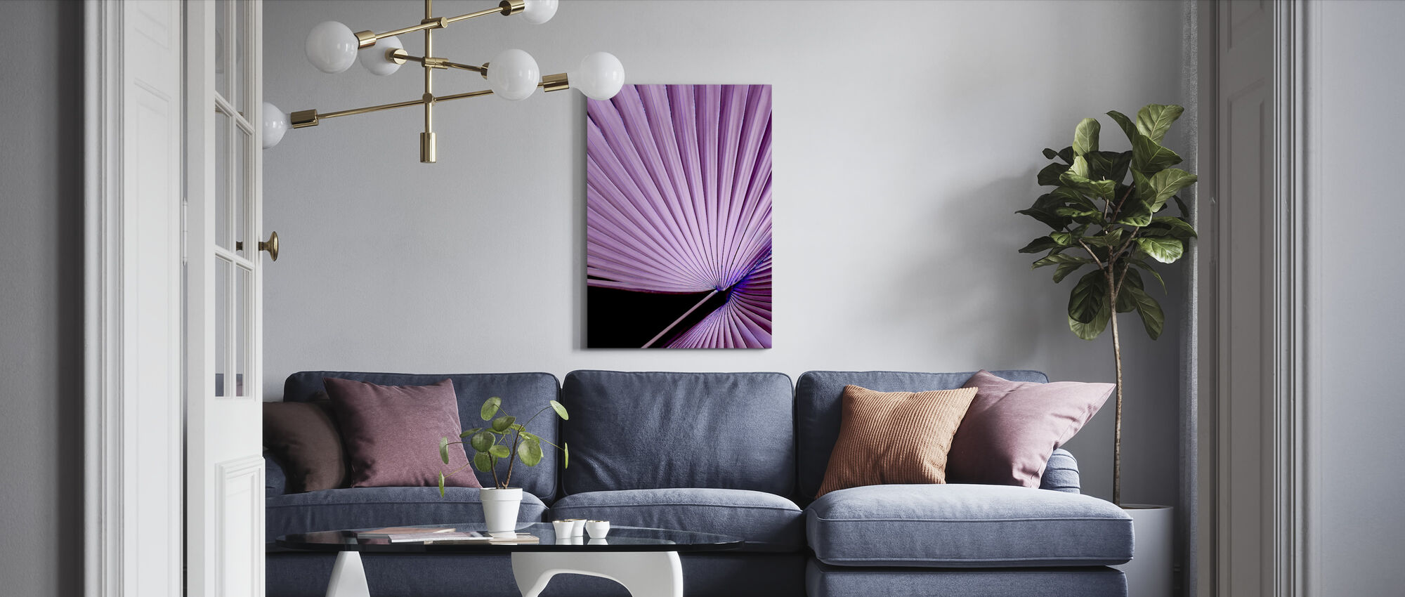 Fan Girl - Canvas print - Living Room