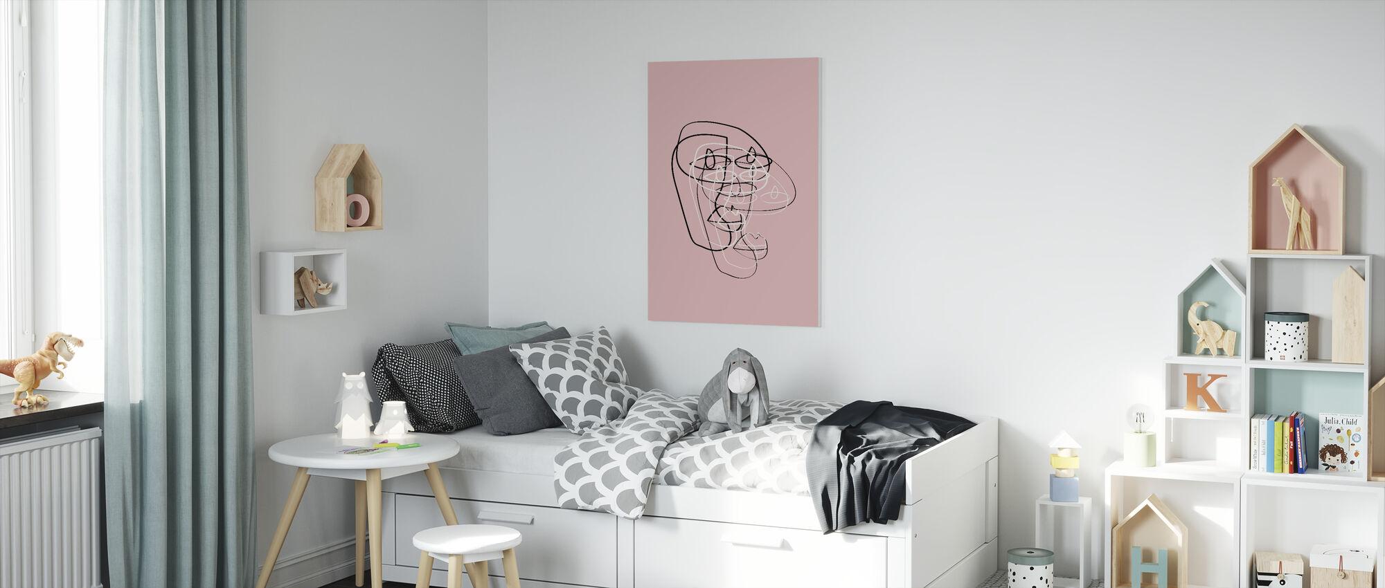 Guru III - Canvas print - Kids Room