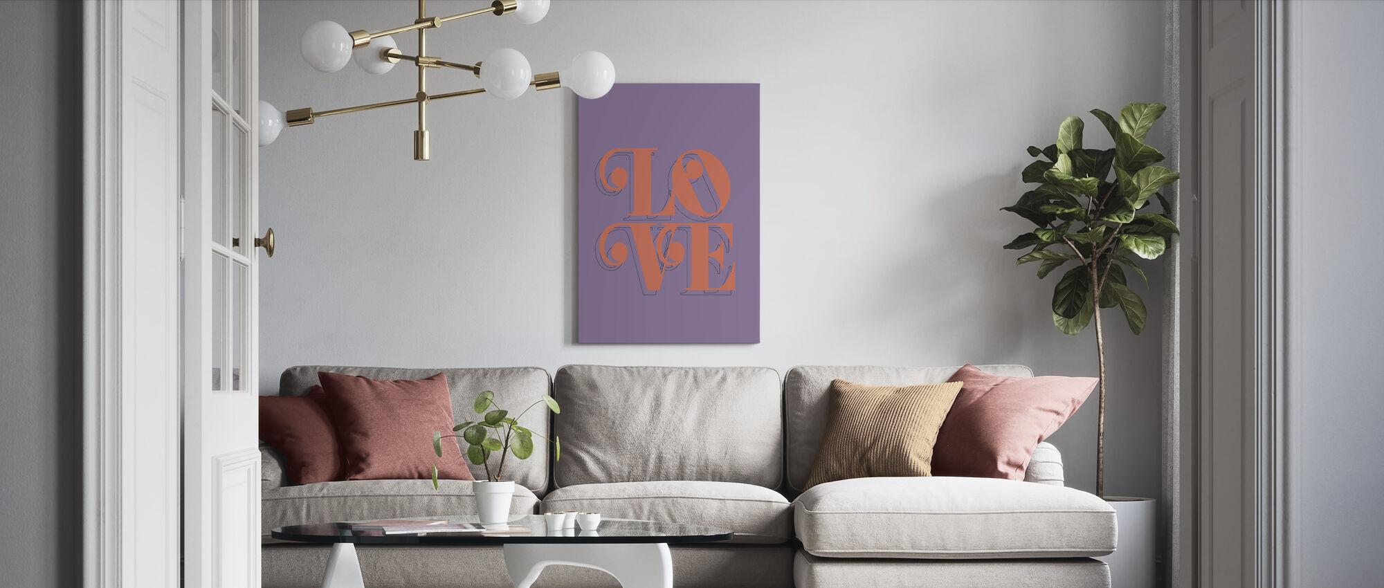 Love Fruit - Canvas print - Living Room