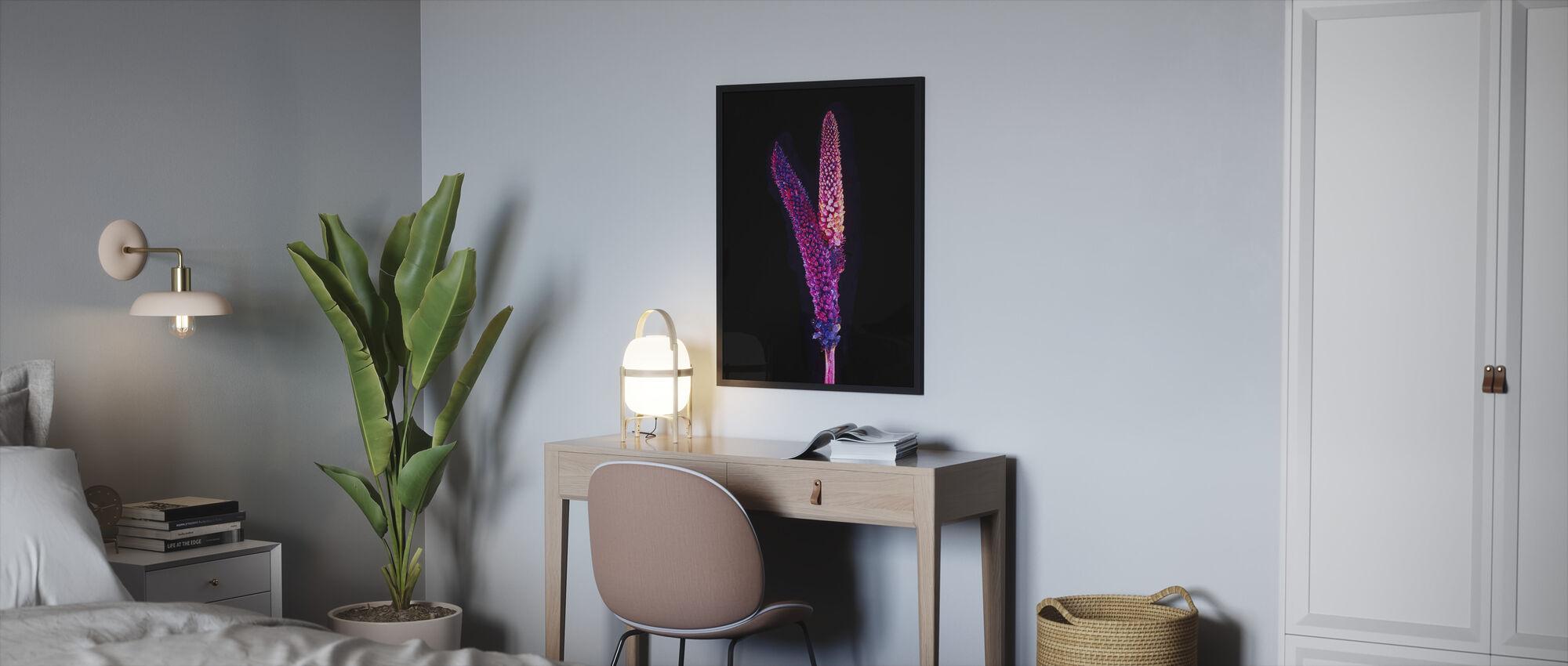 Neon - Framed print - Bedroom
